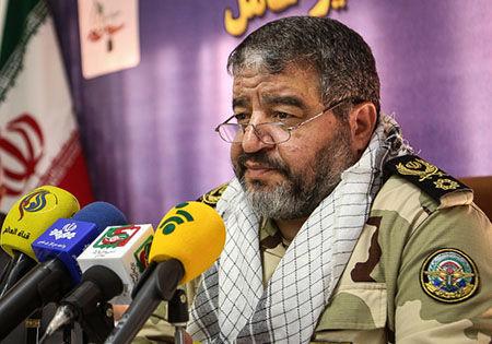 رئیس سازمان پدافند غیر عامل از نیروی انتظامی تشکر و قدردانی کرد