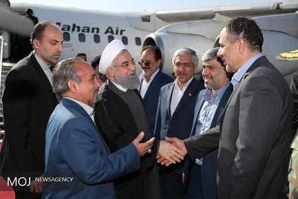 سفر رییسجمهور به استان سمنان