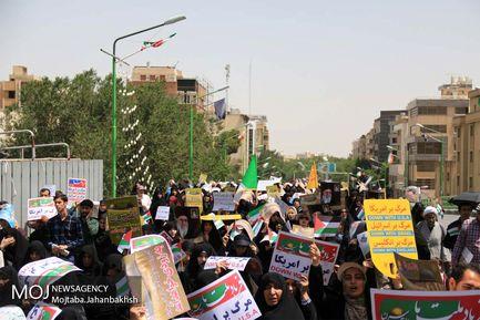 راهپیمایی روز جهانی قدس در اصفهان
