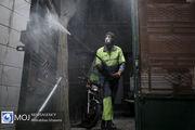 ضد عفونی و گند زدایی معابر و منازل در تهران