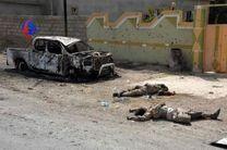 انهدام 2 خودروی بمب گذاری شده داعش در عراق