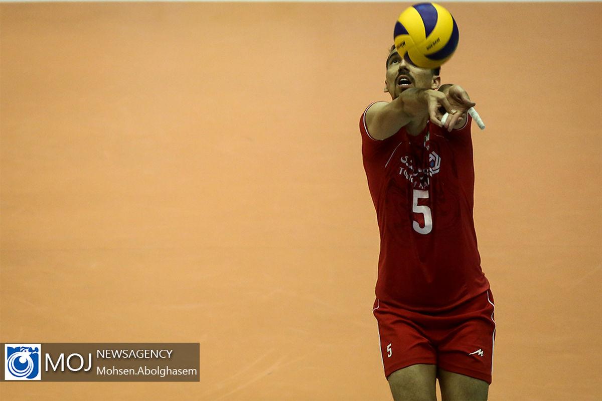 گزارش زنده بازی والیبال بلغارستان و ایران/ بلغارستان 0   ایران  3