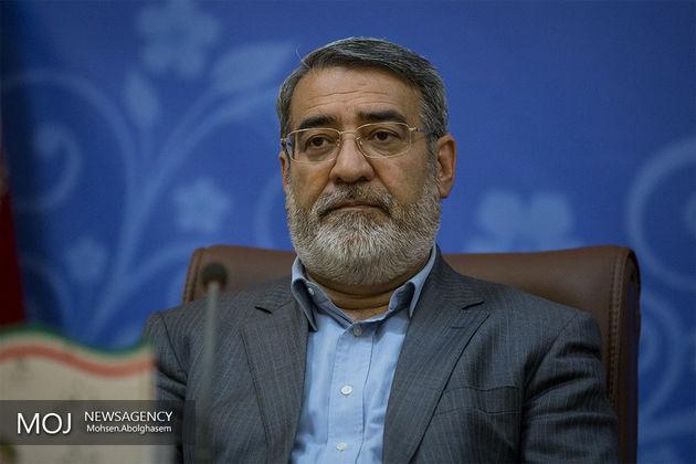 پیام وزیر کشور در پی جنایت واقع شده در استان اردبیل