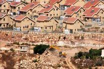 ساخت هزاران واحد مسکونی برای صهیونیستها در کرانه باختری اشغالی