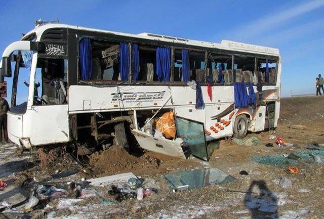 علت واژگونی اتوبوس در لرستان اعلام شد