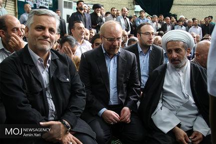 تشییع پیکر حجت الاسلام سید مهدی طباطبایی