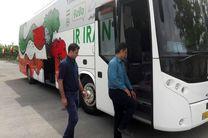 سفر امیدهای فوتسال با اتوبوس جدید تیم ملی فوتبال به اصفهان