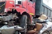 جزئیات تصادف مرگبار اتوبوس با تریلی در اصفهان