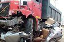 ۴ نفر کشته درپی تصادف خودروی پژو با خاور