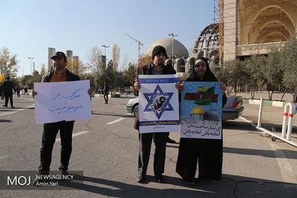 راهپیمایی نمازگزاران تهرانی