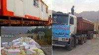 120 کانکس به مناطق زلزله زده غرب کشور ارسال شد