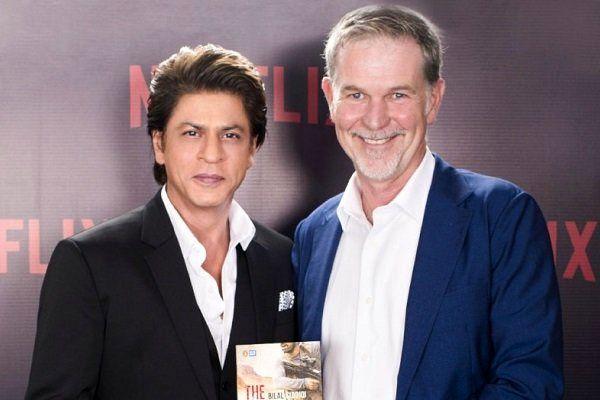 همکاری شاهرخ خان و نتفلیکس برای ساخت یک سریال هندی