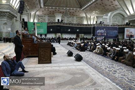 عزاداری شب عاشورای حسینی در مرقد مطهر امام خمینی (ره)