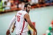 حامد حدادی دومین بازیکن برتر لیگ بسکتبال چین شد