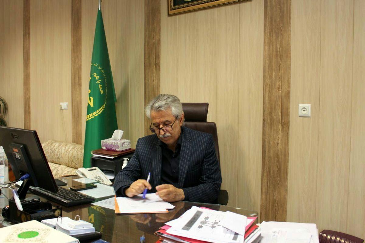  پیش بینی برداشت 163050 تن گندم از مزارع شهرستان کرمانشاه