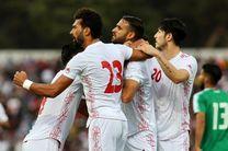 نتیجه بازی تیم ملی فوتبال عراق و ایران در نیمه نخست