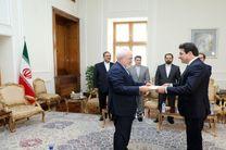 سفیر جدید لبنان در ایران ماموریت خود را در ایران آغاز کرد