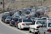 آخرین وضعیت ترافیکی جاده ها کشور اعلام شد/ ترافیک در اکثر محورهای مواصلاتی منتهی به تهران