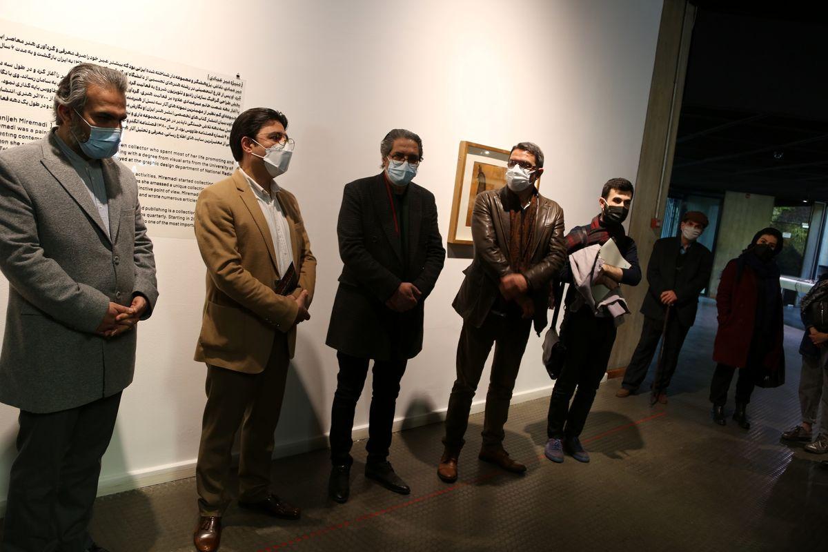 بیش از بیست مدیر گالری از موزه هنرهای معاصر بازدید کردند