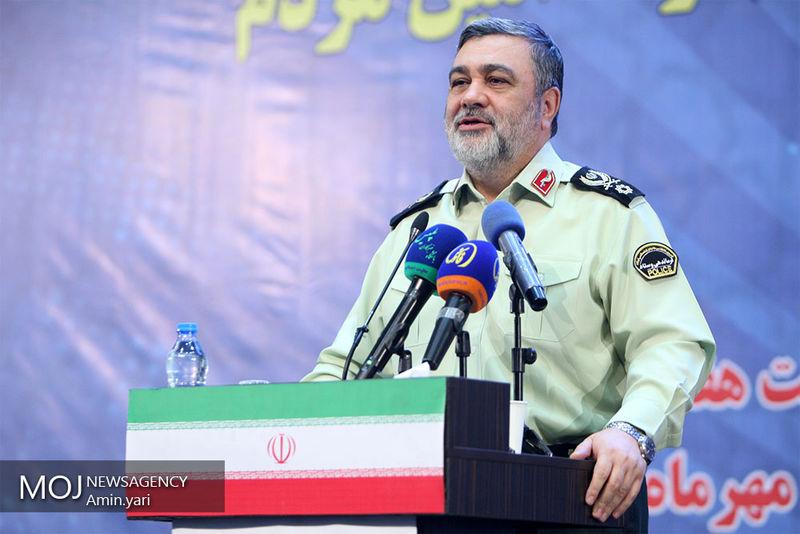 نیروی انتظامی با بیش از ۳۰ هزار نفر در مرزهای اربعین حضور داشت