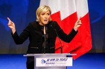 درخواست مارین لوپن برای تعطیلی تمام مساجد فرانسه