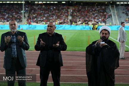 دیدار تیم های فوتبال پرسپولیس و نساجی مازندران