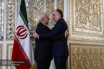 دیدار+وزیر+خارجه+آذربایجان+با+محمدجواد+ظریف