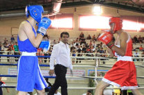 سپهوندی در رقابت های بوکس کسب سهمیه المپیک در باکو به پیروزی رسید