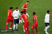 ساعت بازی انگلیس بلژیک در رده بندی جام جهانی 2018 مشخص شد