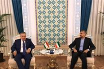 تاکید وزیران خارجه ایران و تاجیکستان بر تشکیل دولت فراگیر در افغانستان