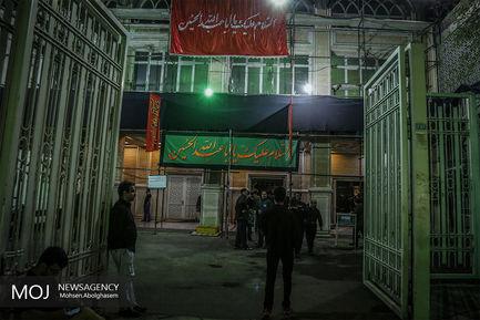 شب هشتم ماه محرم در مهدیه تهران