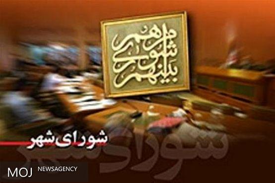 «ادیب فرحانی» رئیس شورای شهر چوئبده شد