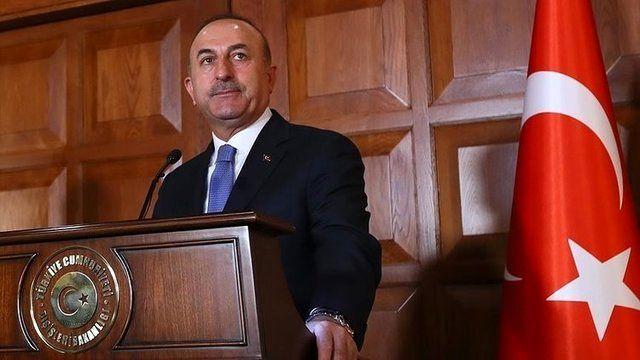 وزیر خارجه ترکیه عازم انگلیس شد