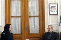آرزوی سلامتی رییس اتحادیه بین المجالس جهانی برای علی لاریجانی