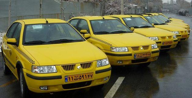 وجود ١۰۰۰ تاکسی مازاد در همدان