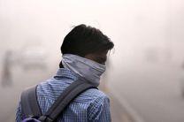 ادامه دار شدن وضعیت ناسالم هوا در بندرخمیر