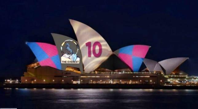 جنجالی که تبلیغات مسابقات سوارکاری بر روی دیوارهای تالار اپرای سیدنی راه انداخت