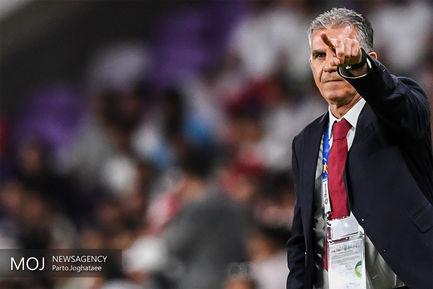 دیدار تیمهای ملی فوتبال ایران و ژاپن/کارلوس کیروش