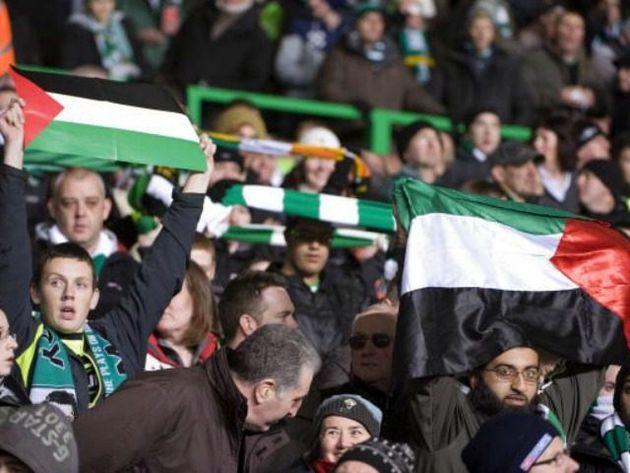 هواداران سلتیک از فلسطین در دیدار با نماینده رژیم صهیونیستی حمایت کردند