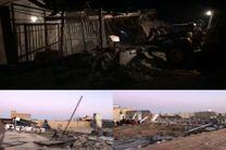 تخریب 82 مورد کاربری غیر مجاز اراضی کشاورزی در قهجاورستان