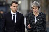 رئیس جمهور فرانسه و نخست وزیر انگلیس با هم دیدار می کنند