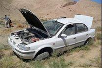 3 کشته و شش مجروح در واژگونی خودرو سمند در جاده نایین - اصفهان