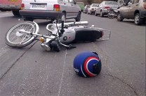 تصادف مرگبار دو موتورسیکلت در خیابان شهید رجایی