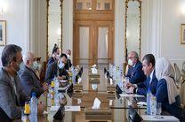 رئیس کمیته روابط خارجی دومای روسیه با ظریف دیدار کرد