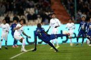 نتیجه بازی استقلال و ماشین سازی تبریز در نیمه نخست