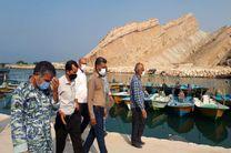خروج شناورهای بدون هویت از بندر صیادی پارسیان