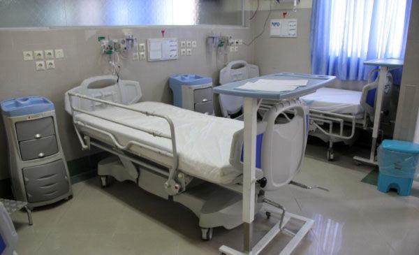 تخت های بیمارستانی افزایش 25 درصدی داشته است