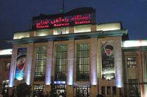 برق سکو های 6 و 7 ایستگاه راه آهن تهران قطع است/ بدهی راه آهن به وزارت نیرو علت قطعی برق