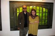 نمایش نقاشی های عباس کیارستمی در گالری گلستان
