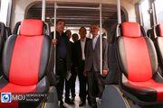 بهره برداری از ناوگان جدید اتوبوس و مینی بوس های شهر تهران